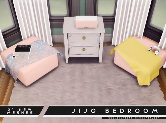 Jijo Bedroom Set at Onyx Sims image 1754 670x497 Sims 4 Updates