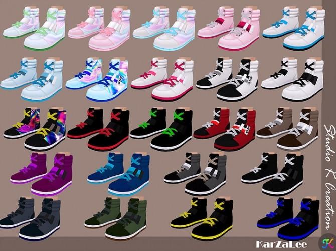 Sims 4 Casual Sneakers at Studio K Creation