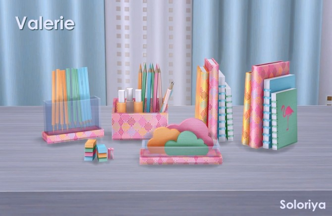 Valerie set part 2 clutter (P) at Soloriya image 179 670x437 Sims 4 Updates