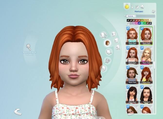Sims 4 Abigail Hair T at My Stuff