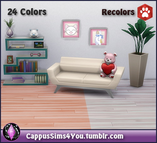 Sims 4 RC Wood Floor Iris at CappusSims4You