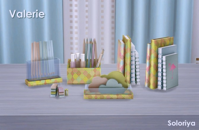 Valerie set part 2 clutter (P) at Soloriya image 181 670x437 Sims 4 Updates