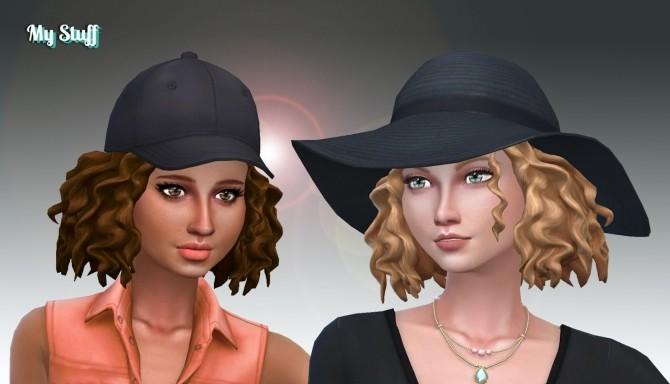Sims 4 Ophelia Hair at My Stuff