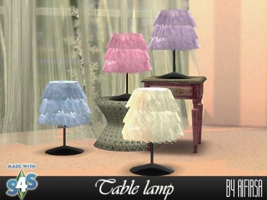 Table lamp at Aifirsa image 1813 Sims 4 Updates