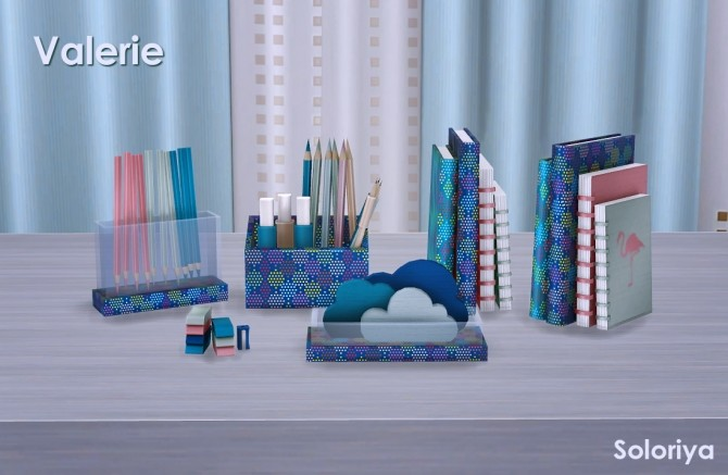 Valerie set part 2 clutter (P) at Soloriya image 182 670x437 Sims 4 Updates