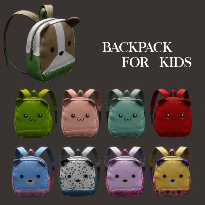 Backpack For Kids at Leo Sims image 1834 670x670 Sims 4 Updates
