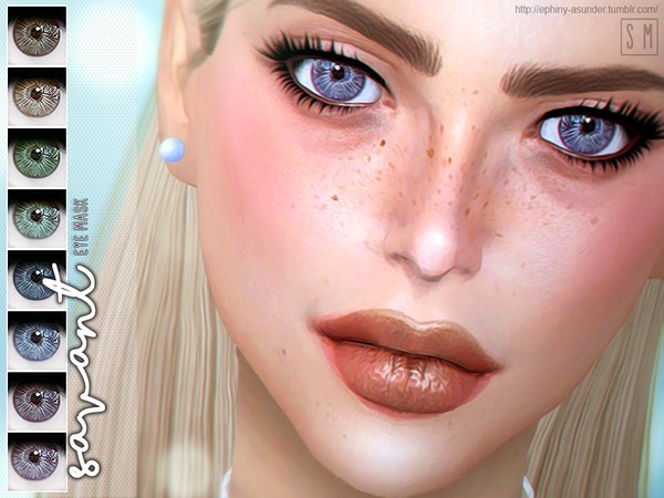 Sims 4 Savant Eye Mask by Screaming Mustard at TSR