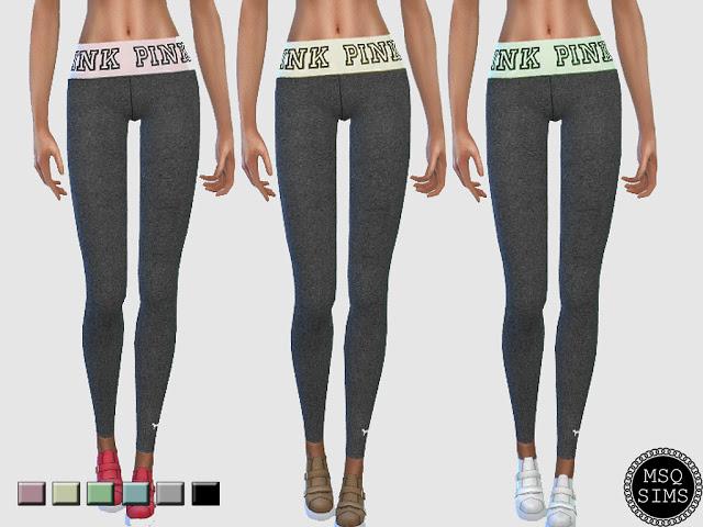 Yoga Leggings at MSQ Sims image 1843 Sims 4 Updates