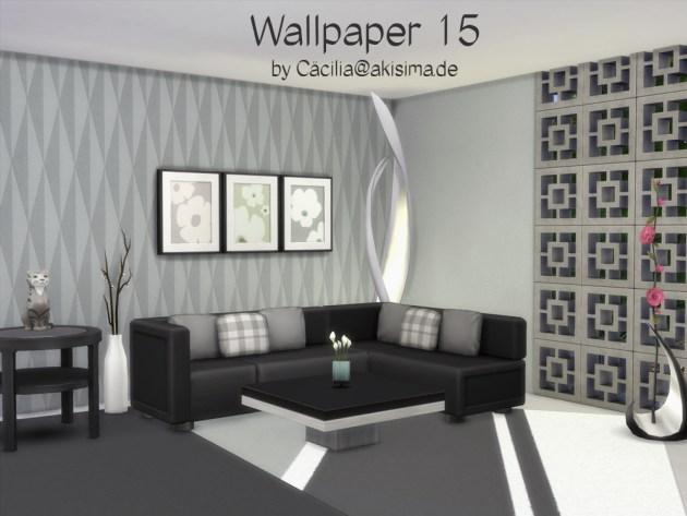 Wallpaper 15 by Cacilia at Akisima image 1855 Sims 4 Updates