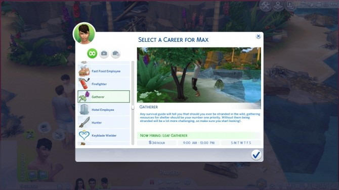 The Sims Castaway Stories Careers by GoBananas at Mod The Sims image 1891 670x377 Sims 4 Updates