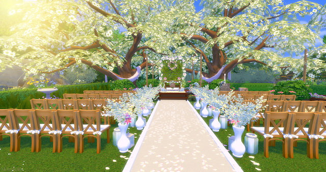 Wedding venue at Mony Sims image 1893 Sims 4 Updates