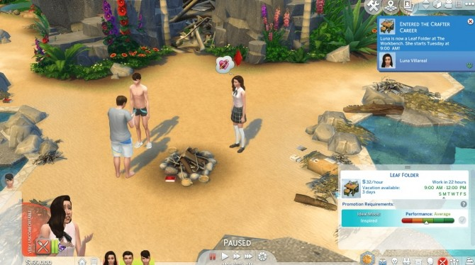The Sims Castaway Stories Careers by GoBananas at Mod The Sims image 1901 670x374 Sims 4 Updates
