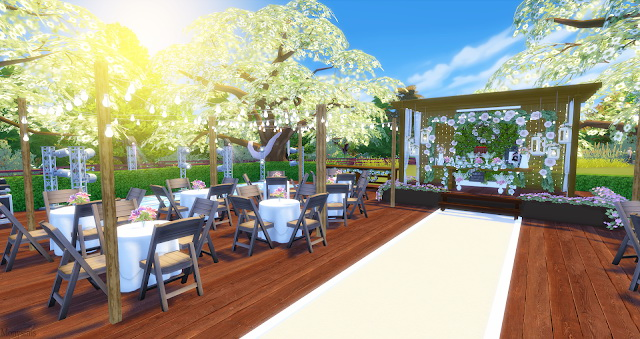 Wedding venue at Mony Sims image 1903 Sims 4 Updates