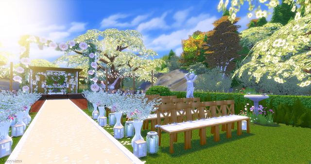 Wedding venue at Mony Sims image 1916 Sims 4 Updates