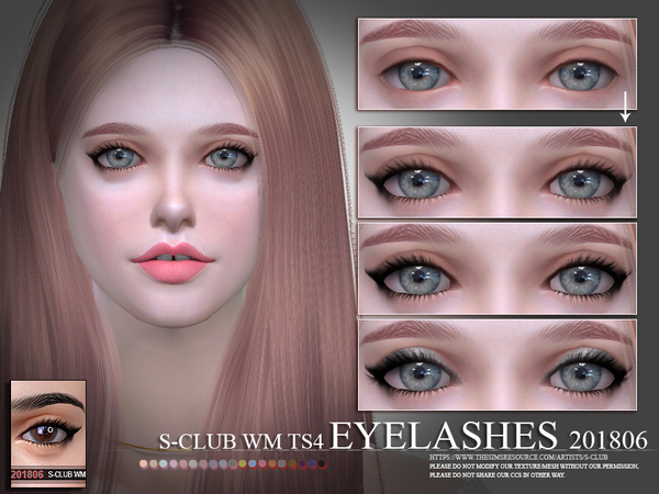 Eyelashes 201806 by S Club WM at TSR image 1918 Sims 4 Updates