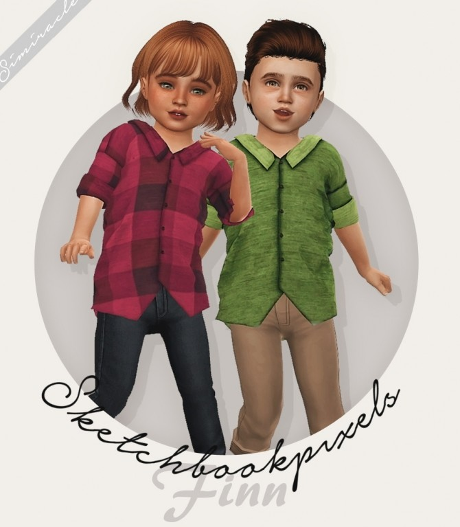 Sims 4 Sketchbookpixels Finn Kids & Toddlers 3T4 at Simiracle