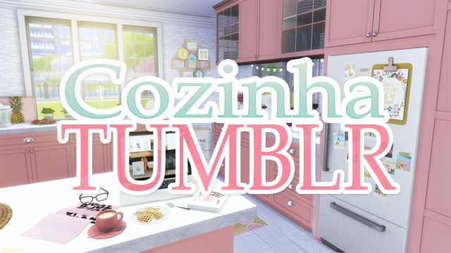 Tumblr Kitchen at Mony Sims image 1963 Sims 4 Updates