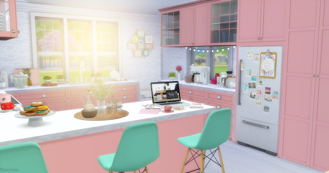 Tumblr Kitchen at Mony Sims image 1983 Sims 4 Updates