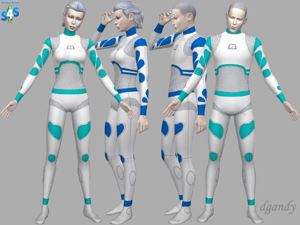 Sims 4 Androids from the Future by dgandy at TSR