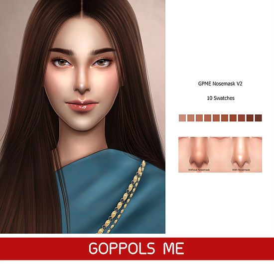 Nosemask V2 at GOPPOLS Me image 2003 Sims 4 Updates