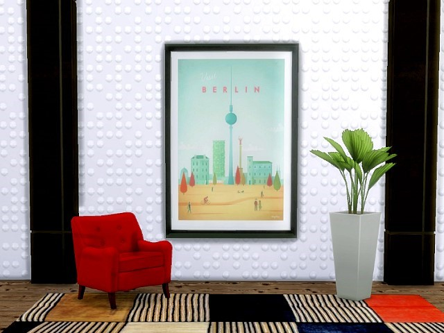 Cities paintings by Oldbox at All 4 Sims image 2016 Sims 4 Updates