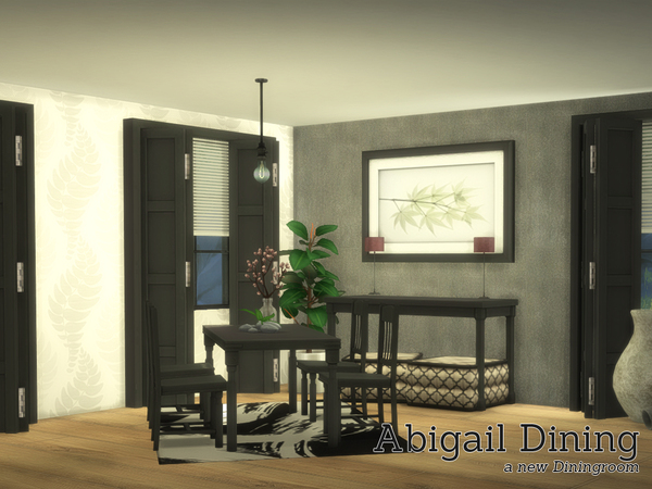 Abigail Dining By Angela At TSR