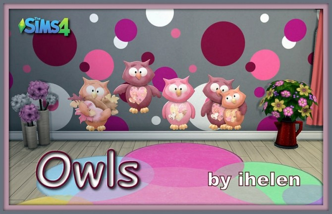 Owls by ihelen at ihelensims image 20210 670x432 Sims 4 Updates