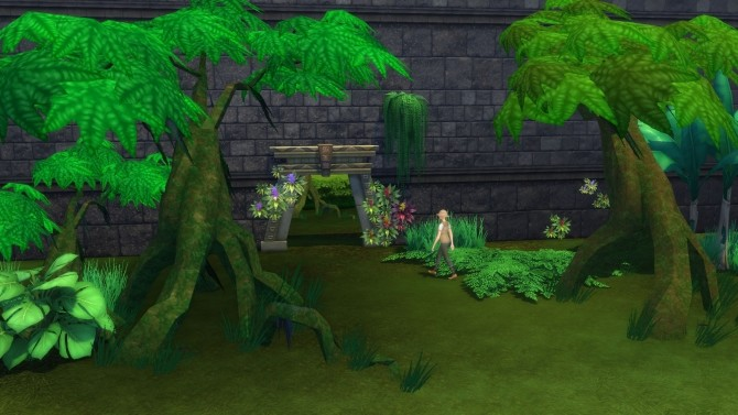 Mossy Jungle Trees by Snowhaze at Mod The Sims image 2061 670x377 Sims 4 Updates