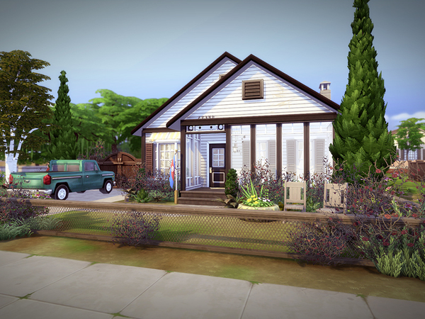 Lowdrive house NO CC by melcastro91 at TSR image 2109 Sims 4 Updates