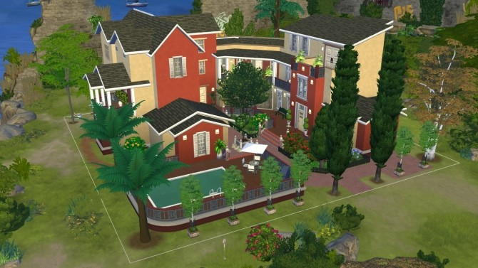 Windenburgs island mansion by iSandor at Mod The Sims image 2111 670x377 Sims 4 Updates