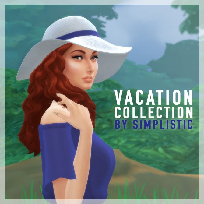 Vacation Collection at SimPlistic image 2123 670x670 Sims 4 Updates