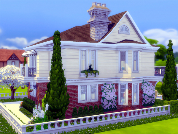 Sims 4 Whitehaven house by sharon337 at TSR