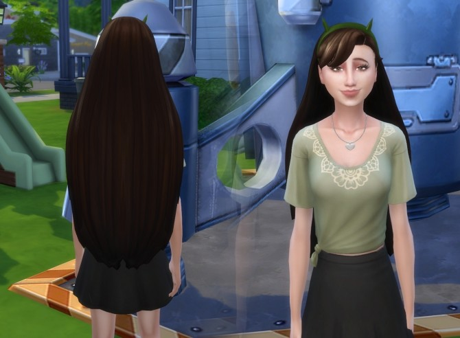 Sims 4 Star Hair at My Stuff