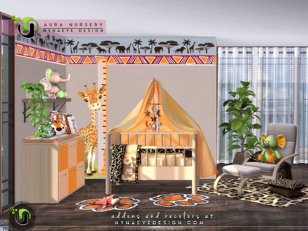 Sims 4 Aura Nursery by NynaeveDesign at TSR