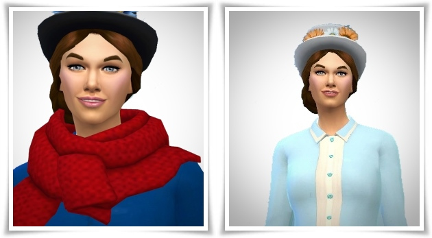 Julie Andrews as Mary Poppins at Birksches Sims Blog image 224 Sims 4 Updates