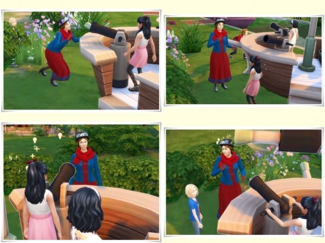 Sims 4 Julie Andrews as Mary Poppins at Birksches Sims Blog