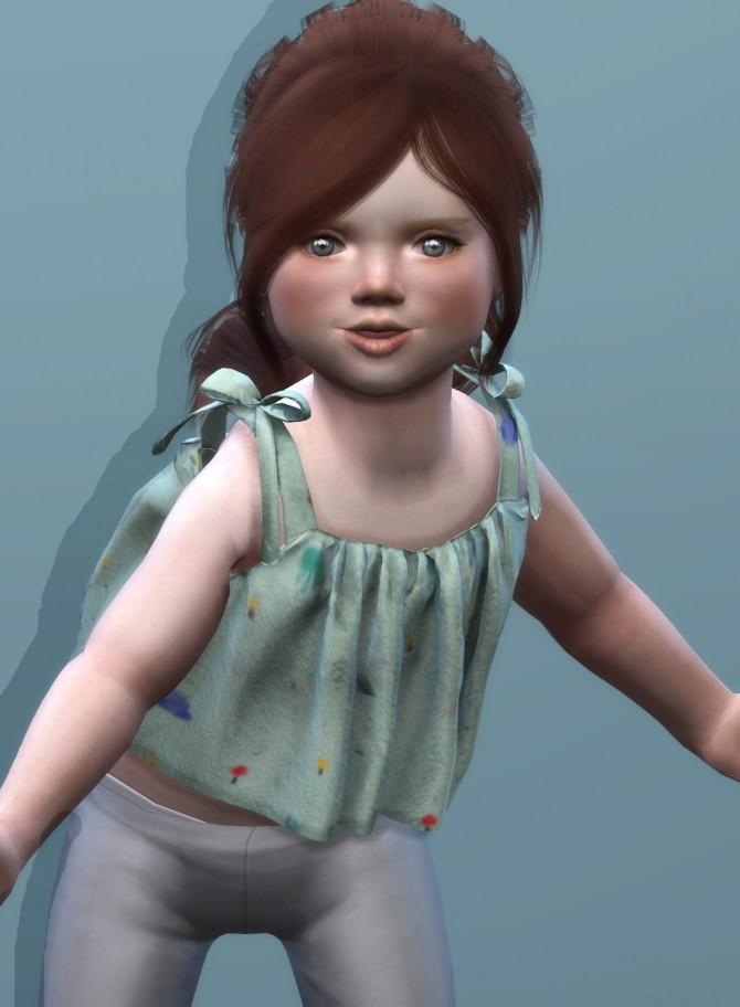 Sims 4 SKETCHBOOKPIXELS MIA TOP at REDHEADSIMS