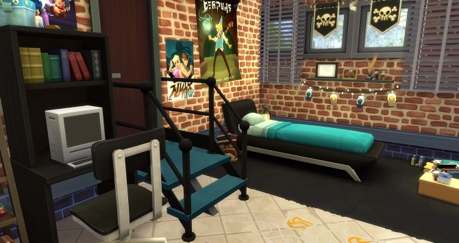Ancolie house by Angerouge at Studio Sims Creation image 2311 670x355 Sims 4 Updates