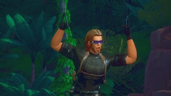 Sims 4 Parachute Pose and Parachute Birthday Gift at Josie Simblr