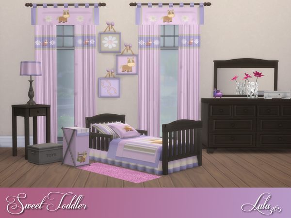 Sweet Toddler Bedroom by Lulu265 at TSR image 2328 Sims 4 Updates