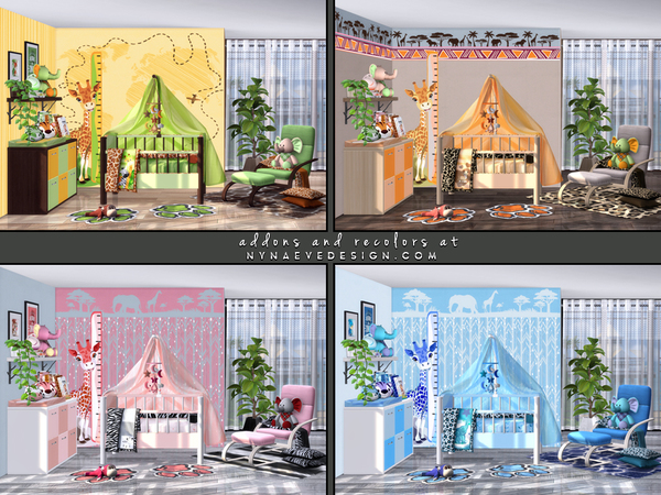 Aura Nursery by NynaeveDesign at TSR image 2329 Sims 4 Updates
