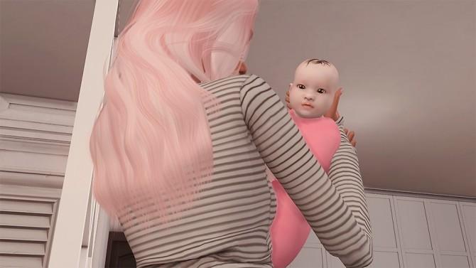 Sims 4 Deco Baby and Pose at Josie Simblr
