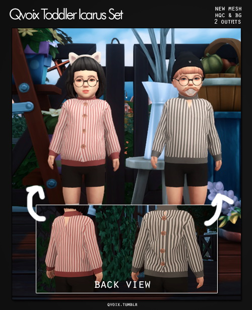 Sims 4 Icarus Set T at qvoix – escaping reality