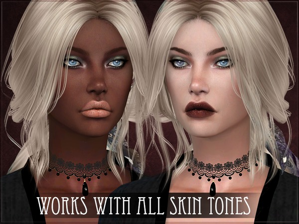Sims 4 Fiji Lipstick V1 by RemusSirion at TSR