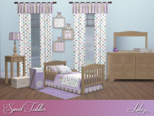 Sweet Toddler Bedroom by Lulu265 at TSR image 2426 Sims 4 Updates