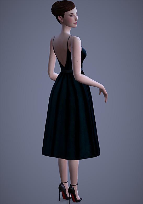 Valentina Dress at Magnolian Farewell image 2432 Sims 4 Updates