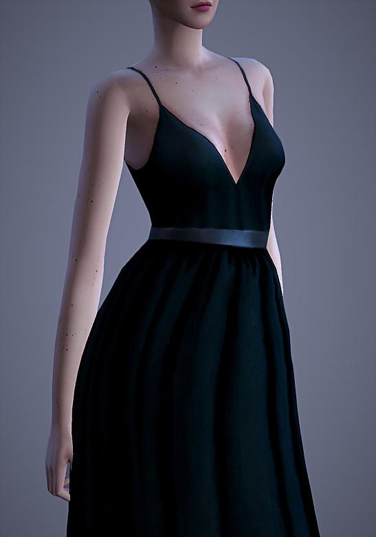 Valentina Dress at Magnolian Farewell image 2442 Sims 4 Updates