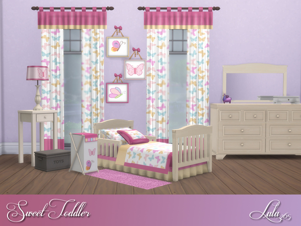 Sweet Toddler Bedroom by Lulu265 at TSR image 2528 Sims 4 Updates