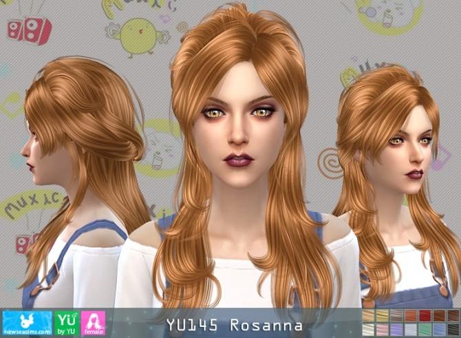 YU145 Rosanna hair (P) at Newsea Sims 4 image 2532 670x491 Sims 4 Updates