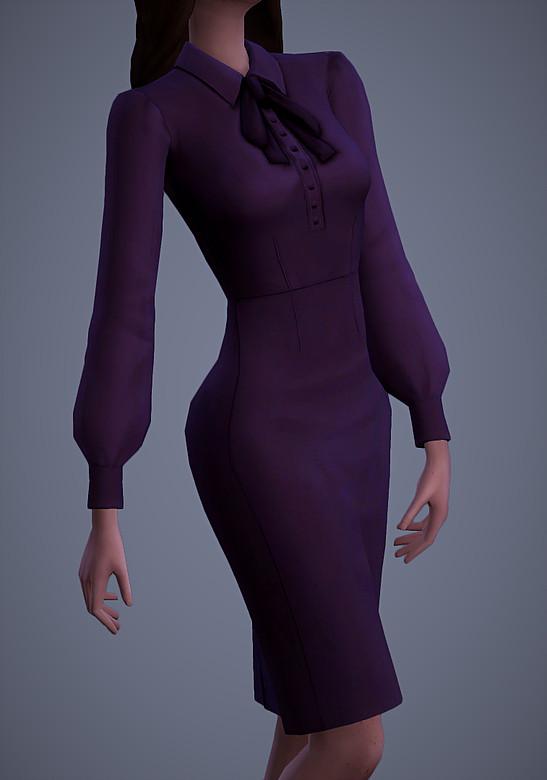 Sims 4 Isobel Dress at Magnolian Farewell
